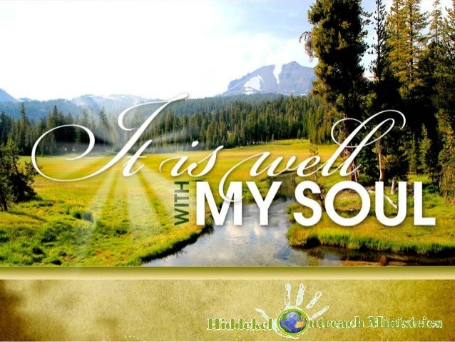 it is well with my soul pdf