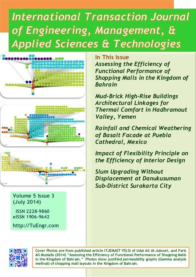 ITJEMAST 53 International Transaction Journal of Engineering Man