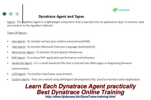 Dynatrace Appmon Online Training