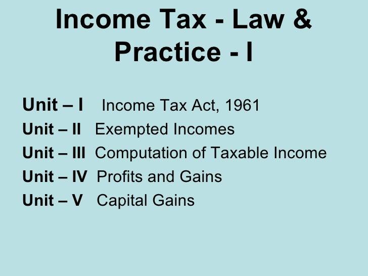 income tax Slide 2