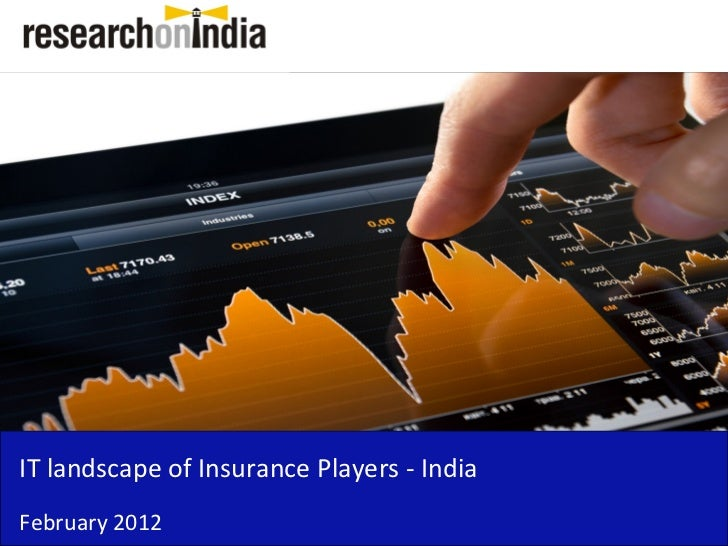 Insert Cover Image using Slide Master View                               Do not distortIT landscape of Insurance Players -...
