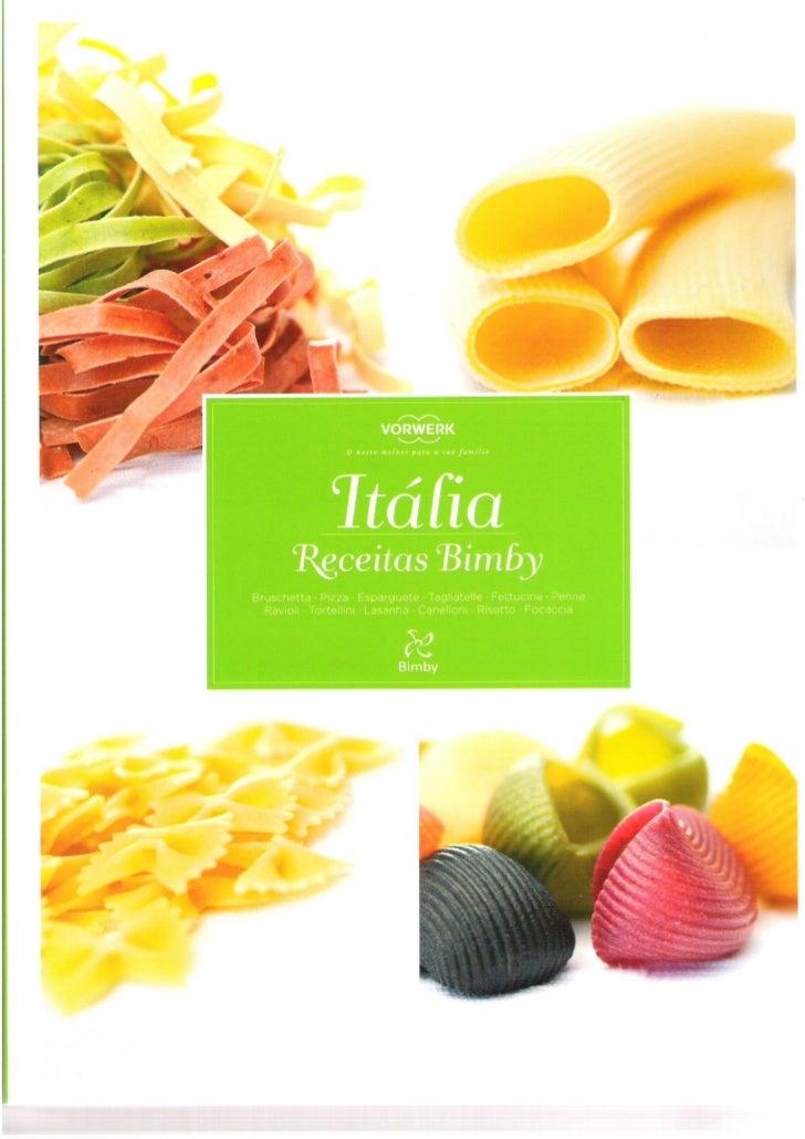 Itália   receitas bimby