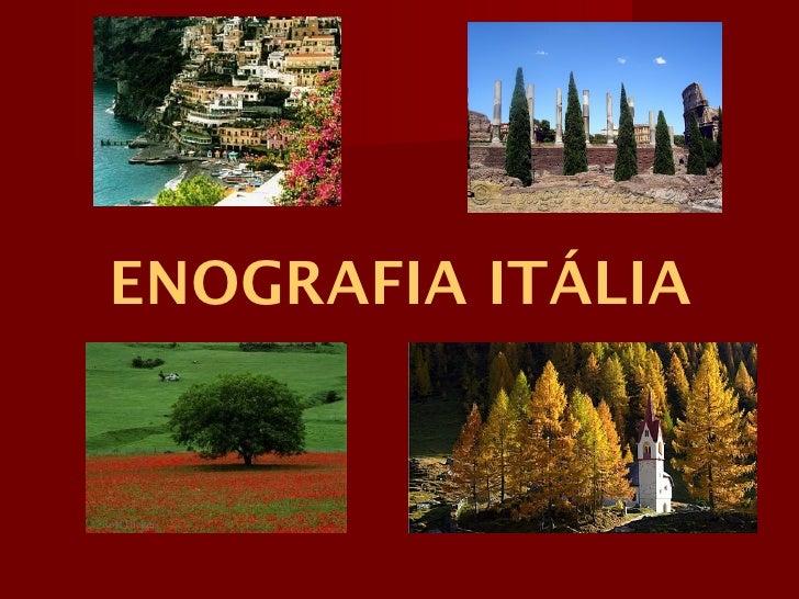 ENOGRAFIA ITÁLIA