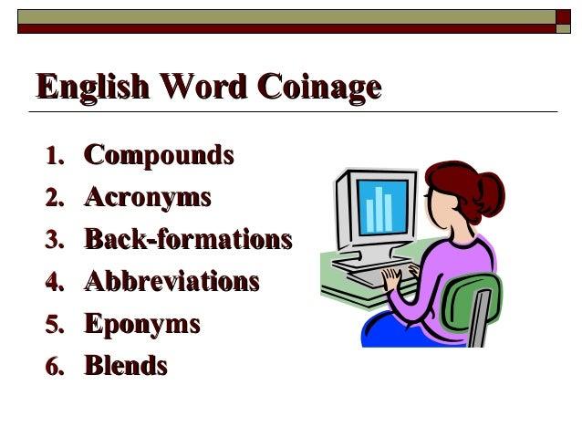 comounding and acronym