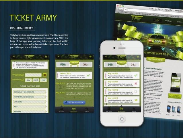 Mobile portfolio - ITM House
