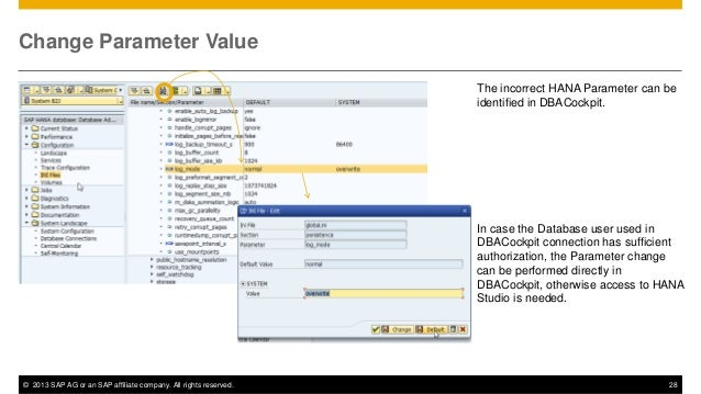 Itm110 how does sap solution manager support sap hana