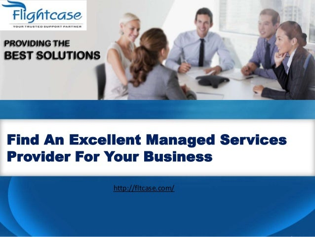 Business plan managed service providers