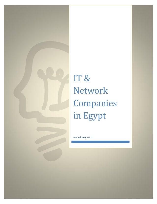 IT & Network Companies in Egypt www.itawy.com