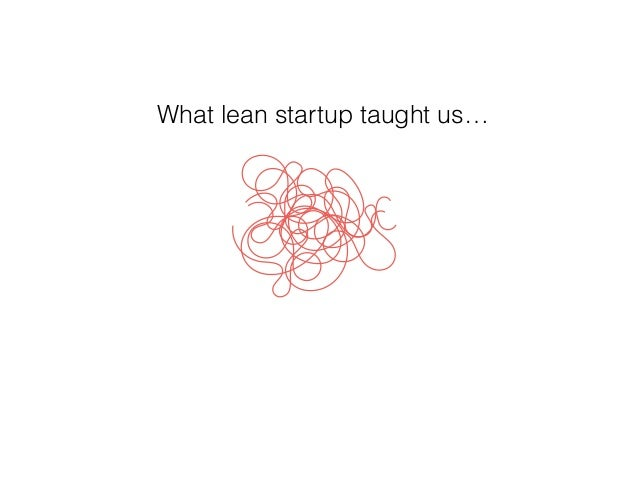 fail fast, often and smart, What lean startup taught us…