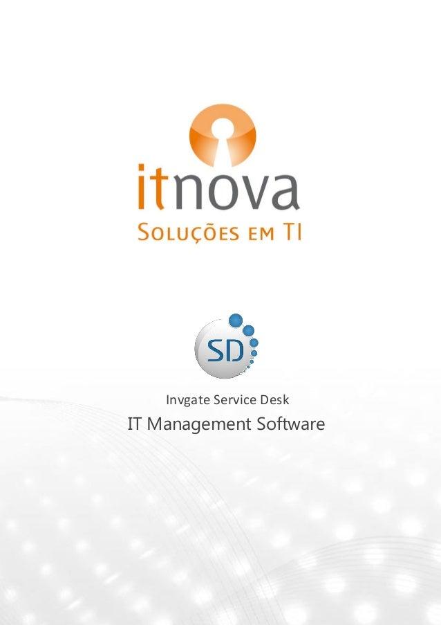 Invgate Service DeskIT Management Software