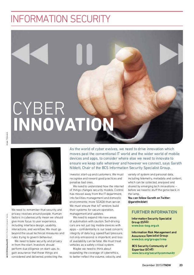 We need to remember that security and privacy revolves around people. Human factors in cybersecurity mean we should give m...