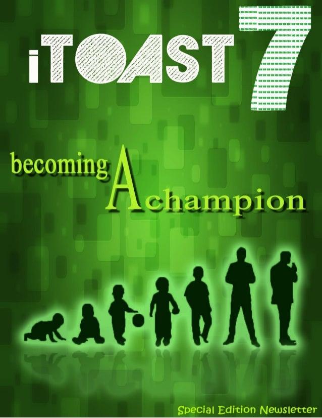 iToast 7 TCS Maitree Champions Toastmasters Club 2 | P a g e TCS Maitree Champions Toastmasters Club Hosts its meeting on ...
