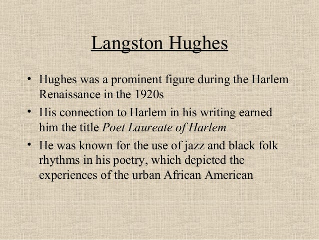 "the perception of american dream in the writings of langston hughes It remained true, as observed recently by w jason miller, when hughes's poem from 1948, eventually known as ""dream deferred,"" was instrumental to the imagery and language of martin luther king's 1967 often, in the context of american poetry, hughes is simply the invisible man: in view, yet unseen."