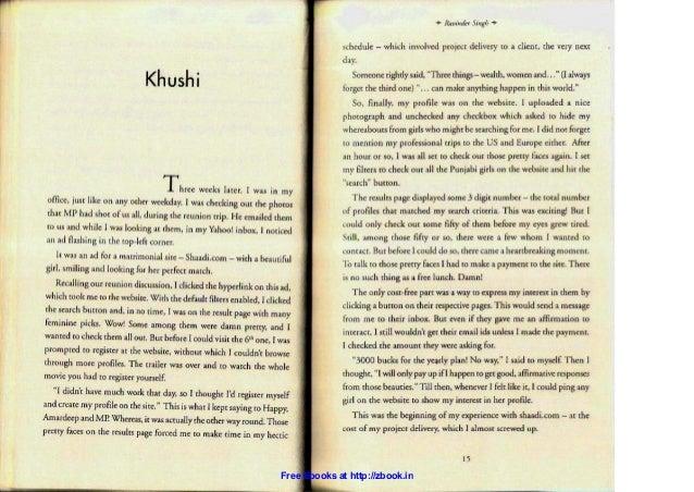 ravinder singh books free download pdf