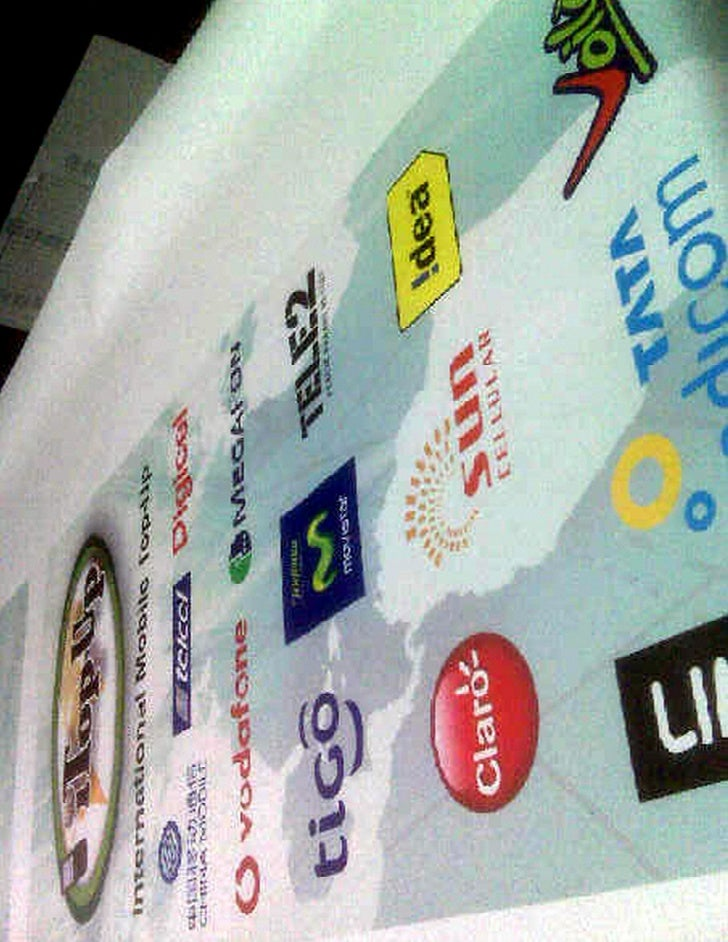 I Top Up Banner For Prepaid Press Expo 2009