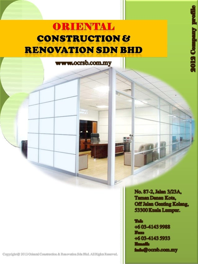 It Or 2 04 A Company Profile Oriental Construction