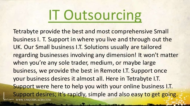 It outsourcing Slide 3