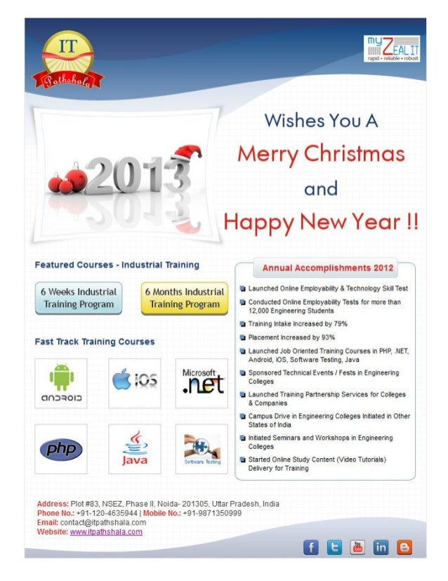 IT Solutions Annual Accomplishments 2012