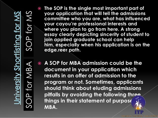 sop for mba students essay