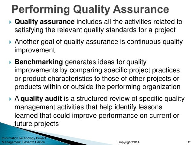 information technology quality assurance Open position: quality assurance engineer headquartered in arlington, virginia, promontory interfinancial network, llc is the fastest growing financial network in the country we provide profit-enhancing services to banks and other financial institutions nationwide.