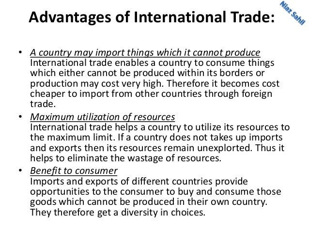 international trade and trade restrictions The us international trade commission announces the release of global digital trade i: market opportunities and key foreign trade restrictions.