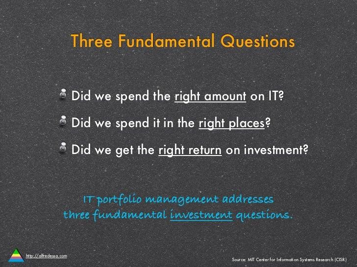 IT Portfolio Management in 10 Slides Slide 2