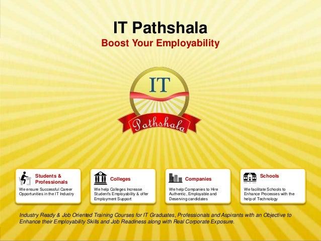 IT Pathshala                                                 Boost Your Employability                Students &           ...