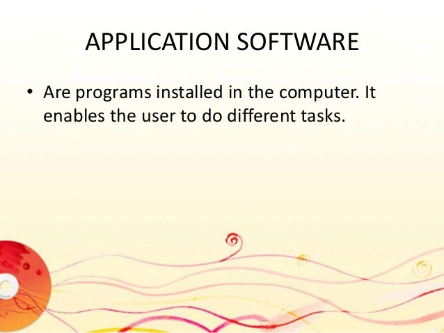 an analysis of the different application programs in computer multimedia An application program refers to those computer programs that utilize the capacity of computer to perform specific task different types of application program 1 multimedia application.