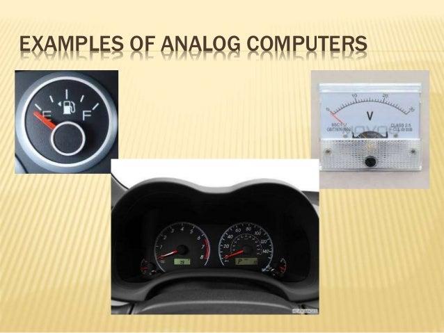 Analog Computers Digital Computers Hybrid Computers