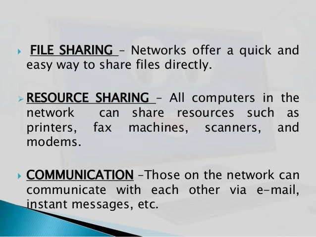 computer networks presentation