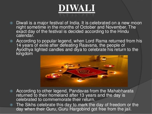 FESTIVALS OF INDIA (PRESENTATION II)