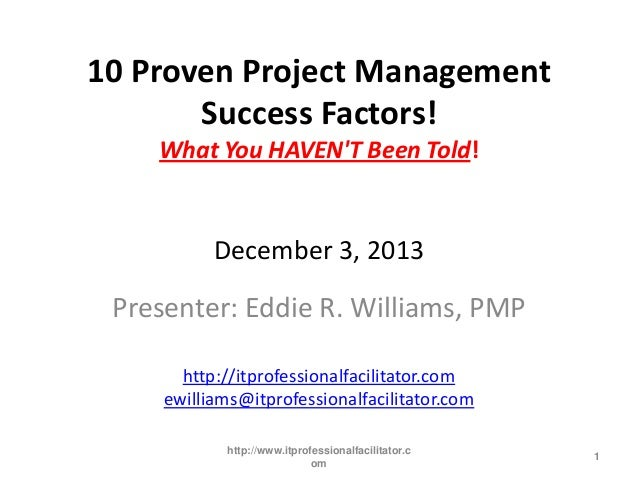 How To Identify Critical Success Factors in Project Management