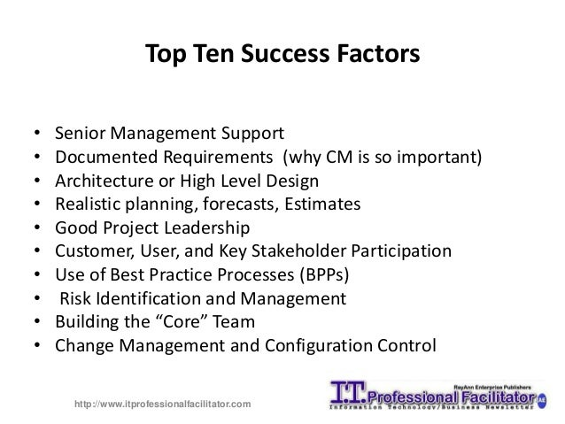 mcdonalds top five critical success factors Paper presented by catherine bell and diane mcdonald in-depth interviews to ascertain the nature of this success, including critical success factors in its truest form, the success case method: 'searches out and while this second evaluation incorporated all five steps included in the scm process.