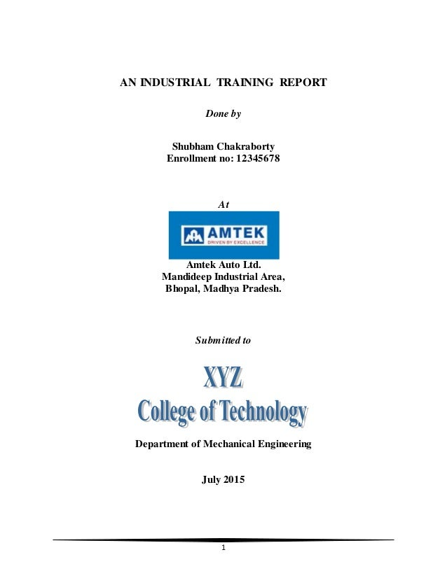 hotel industrial training report A creation of the khartoum state vocational training and administration   skills and needs required by the hotel industry and to assess the skills of the hotel.