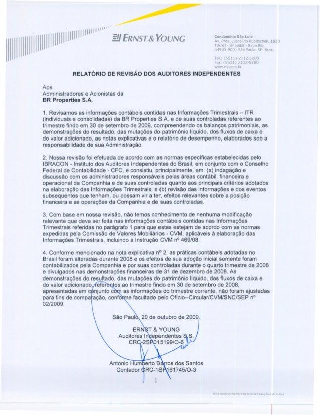 SERVIÇO PÚBLICO FEDERAL CVM - COMISSÃO DE VALORES MOBILIÁRIOS ITR - Informações Trimestrais Legislação Societária EMPRESA ...