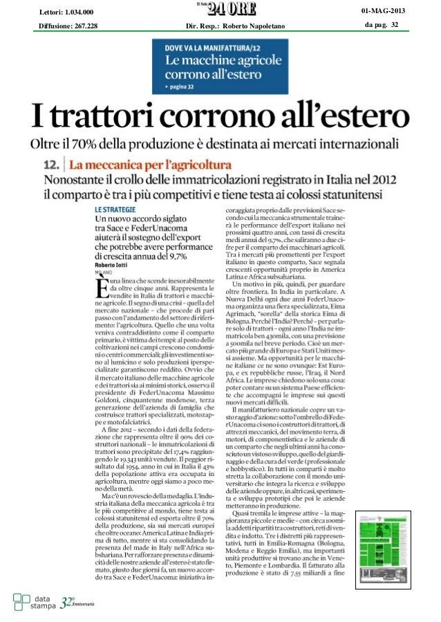 da pag. 3201-MAG-2013Diffusione: 267.228Lettori: 1.034.000Dir. Resp.: Roberto Napoletano
