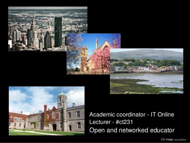 Open Education and Digital Identities Slide 3