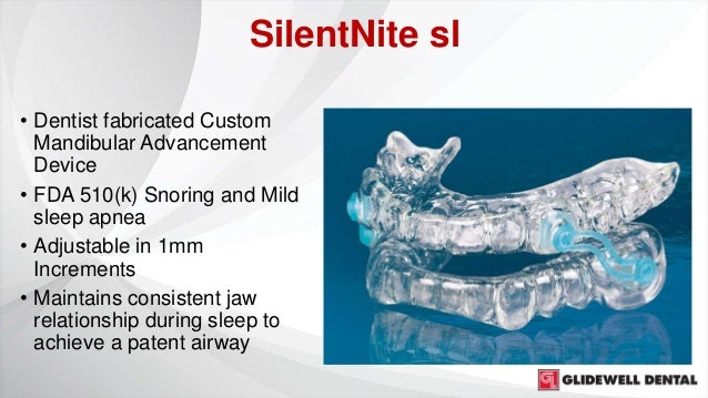 I tried SilentNite sl for sleep apnea - this is what happened