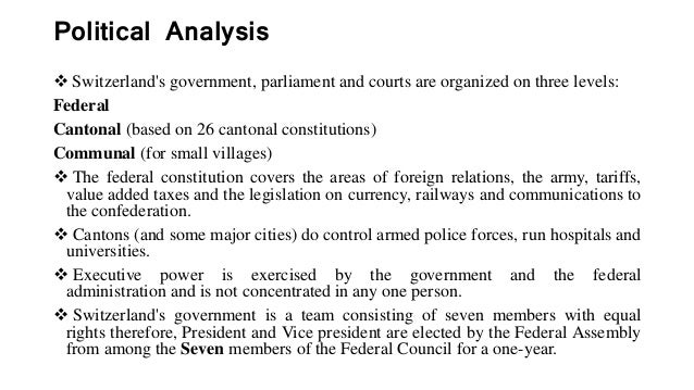an analysis of the switzerlands constitution Constitution of who 1 basic documents, forty-fifth edition, supplement, october 2006 this text replaces that on pages 1-18 of the forty-fifth edition of basic documents, following.