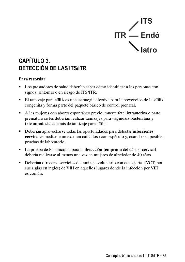 Infecciones de transmisión sexual y otras infecciones del tracto repr…