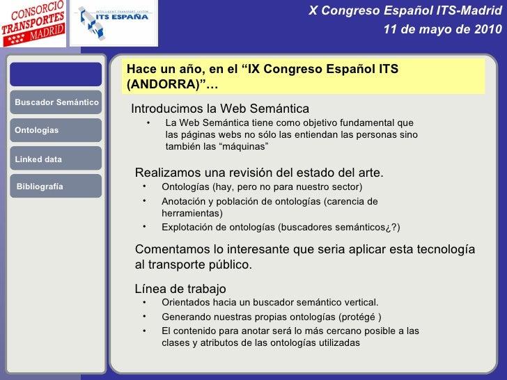 El Consorcio Regional de Transportes y la Web Semántica. Slide 2