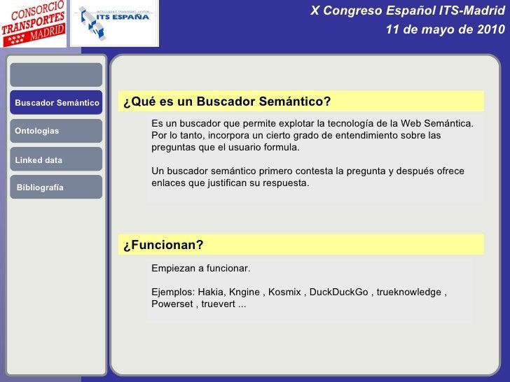 El Consorcio Regional de Transportes y la Web Semántica. Slide 3
