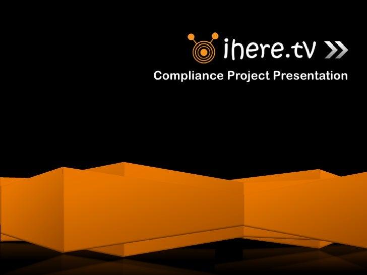 Compliance Project Presentation