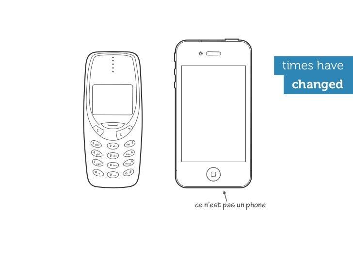 times have                         changedce n'est pas un phone