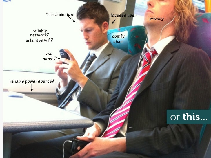 1hr train ride   focused user                                                  privacy            reliable          networ...