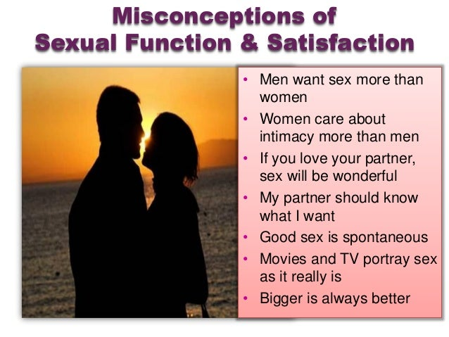 Facts About Male Sexuality