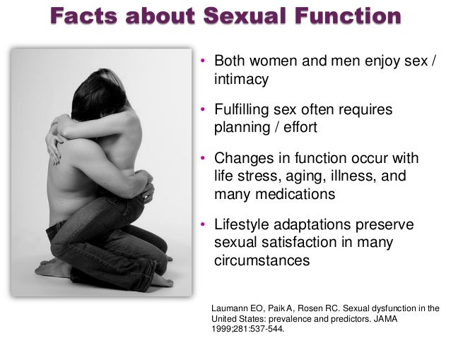 Facts about men and sex