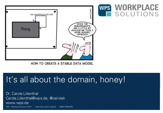 WPS - Workplace Solutions GmbH //// Hans-Henny-Jahnn-Weg 29 //// 22085 HAMBURG It's all about the domain, honey! Dr. Carol...
