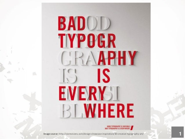What is Typography? The art and technique of arranging type to make written language readable and appealing. It involves s...