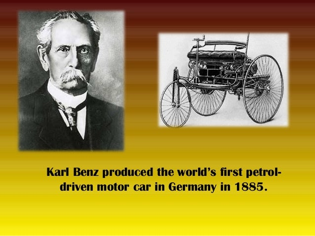 Karl Benz: It's As An Invention